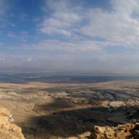 панорама от Мъртво море