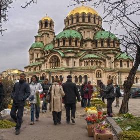 Цветница в София