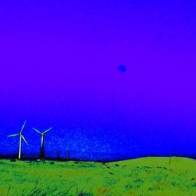 Ветрогенератори в полето