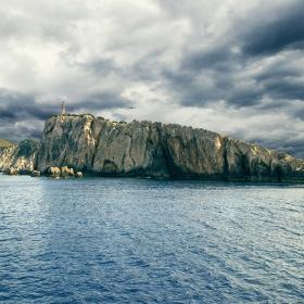 Фарът на остров Лефкада