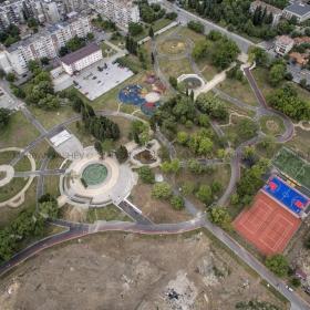 Изграждане на новия парк в кв. Казански на мястото на бившите казарми