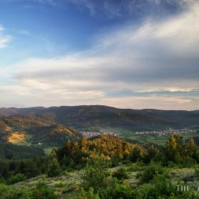 Изглед към село Барутин