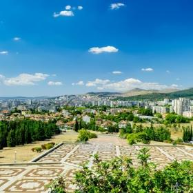 Панорама на Стара Загора - Поглед от Мемориалният комплекс Бранителите на Стара Загора