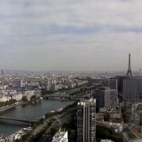 Париж - поглед от балон