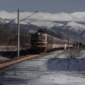 Сняг и релси
