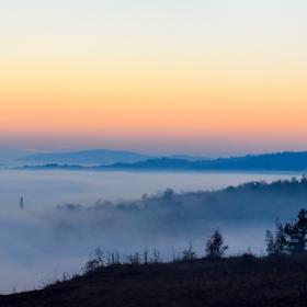 море от мъгла