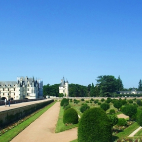 Градините на замъка Chenonceau