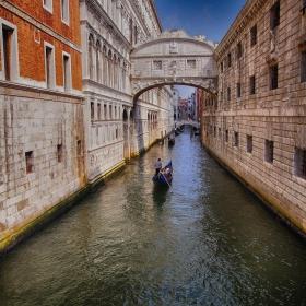 Канали,гондоли и моста на въздишките