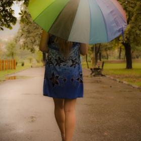 Дъждовна разходка