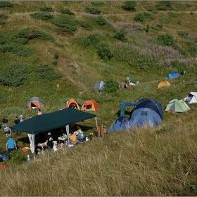 Оживление в лагера