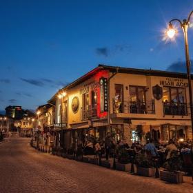 Привечерна атмосфера във Велико Търново!