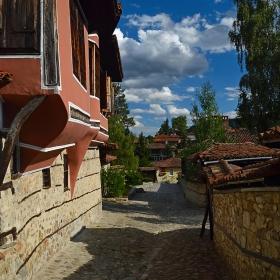 Уличка в Копривщица
