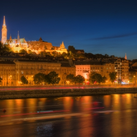 Buda at night...