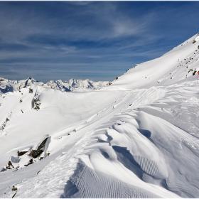 Със ски и щеки по Алпийските пътеки