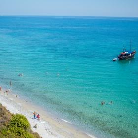 Олимпийската ривиера край Лептокария, Гърция