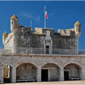 Бастионът на Мантон 1636 г.
