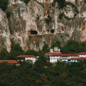 Поглед към Патриаршеският манастир