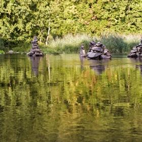 Там, край реката... Nahe в Bad Muenster am Stein