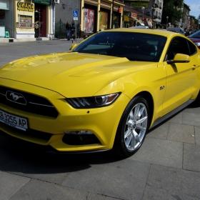 Moto-Pfohe с новия Ford Mustang