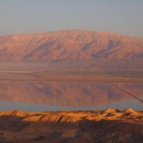 Мъртво море от планината Содом