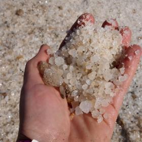 Шепа сол от Мъртво море