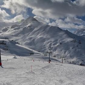 По пистите на Silvretta Alps