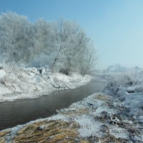 Скрежно снежно утринно...