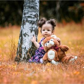Лили и  мечо в парка