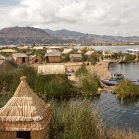 Аймара и техният плаващ остров в Титикака