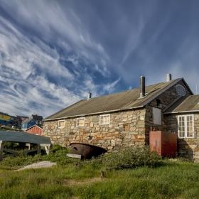 Къщата на рибаря! Гренландия.