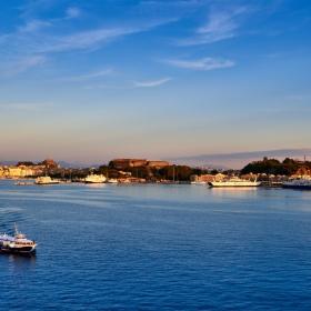 Corfu's sunset mood...