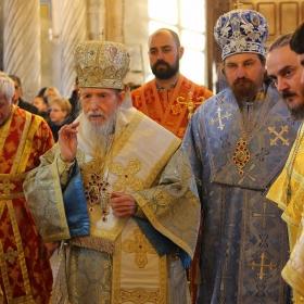 Момент от тържествената литургия
