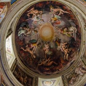Сикстинската капела - интериор