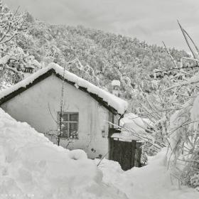 Сгушена в снежна планина