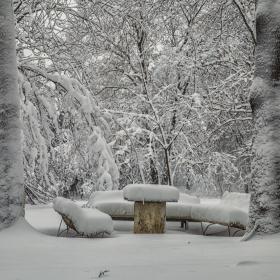 Зимата се е настанила