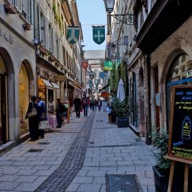 Из уличките на Страсбург. В коментари- още 2 снимки...