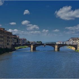 Мостовете на Флоренция - Ponte Santa Trinita,1569 г.