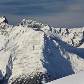 Seekopfe - 3061 m, Saumspitze - 3039 m, Fatlarspitze - 2986 m