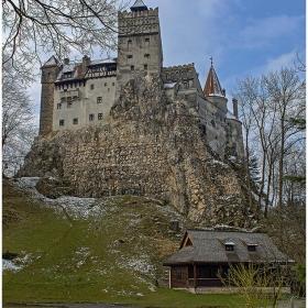 Замъка в Бран, Румъния