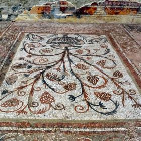 Мозайка от Епископската базилика в Сандански