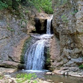 Дряновска река - водопад