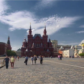 Червеният площад, Москва.