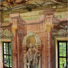 Из коридорите на замъка Brezice