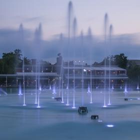 Пеещи фонтани