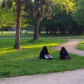 Новото немско ежедневие: на полянката в парка... къде?- виж на картата