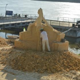 32 гр по Целзий. Международен Фестивал на пясъчни скулптури