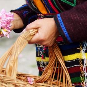 Вземи във този хубав ден, една българска роза, от мен...