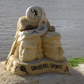Международен фестивал на пясъчните скулптури Русе 2016