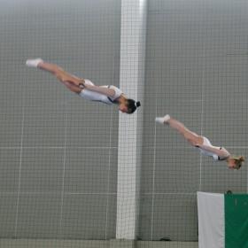 Държавно първенство по скокове на батут - 1