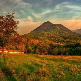 Панорама. Острец фермата